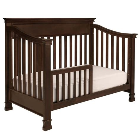 Convertible Cribs With Toddler Rail Million Dollar Baby Classic Foothill 4 In 1 Convertible Crib With Toddler Rail In Espresso M3901q