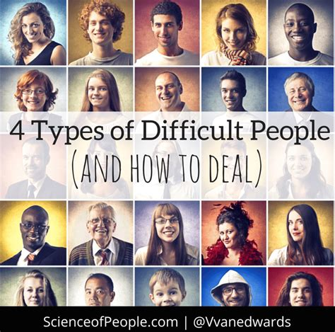 4 Types Of Up And Ways To Deal With Them by 4 Types Of Difficult And How To Deal