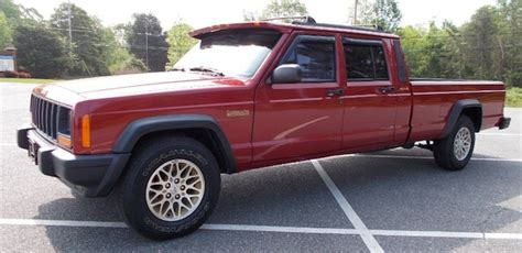 jeep comanche crew cab ebay find four door jeep comanche