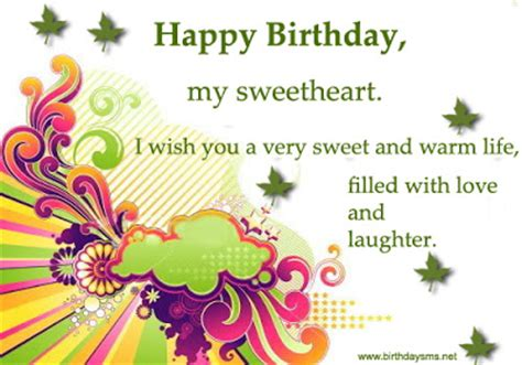 Happy Birthday Wishes Lover Sms Funny Love Sad Birthday Sms April 2013