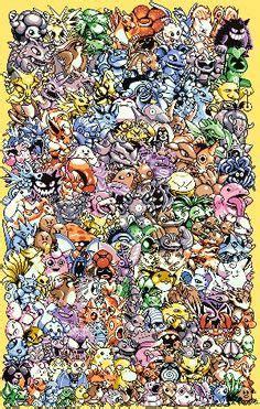epic pokemon generation 1 | cross stitch free, stitches