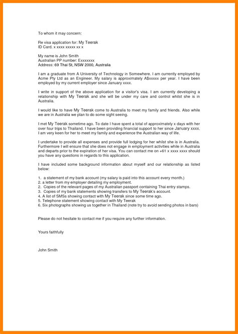4 invitation letter canada resumes great