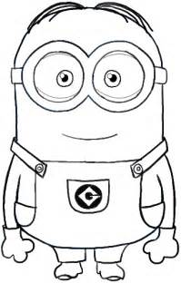 how to draw minions from despicable me how to draw dat