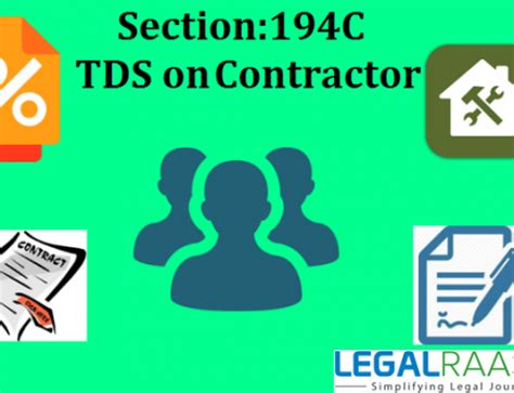 tds section 194i tds rates for ay 2017 18 applicability legalraasta