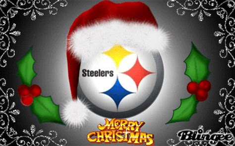 steelers christmas picture  blingeecom