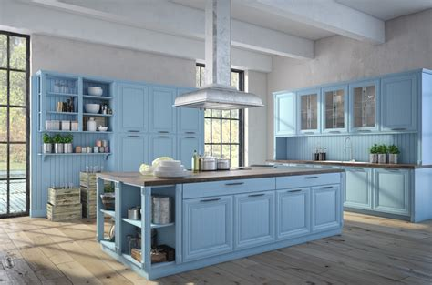 kitchen with blue cabinets 27 blue kitchen ideas pictures of decor paint cabinet