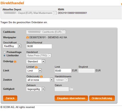 deutsche bank code germany flatex tradegate comdirect geldautomatensuche