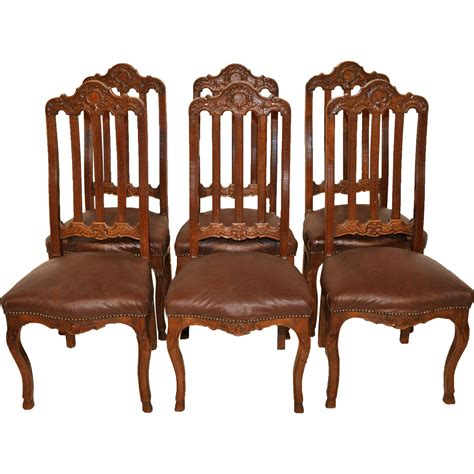 provincial dining room chairs set of four vintage provincial black and white damask igf usa