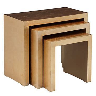 Stackable Tables by Astair Nesting Tables Rustic Nesting Tables Z Gallerie