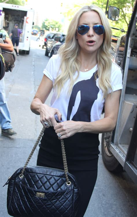 Kate Hudsons Chanel Purse 50 more photos that prove chanel bags are the reigning