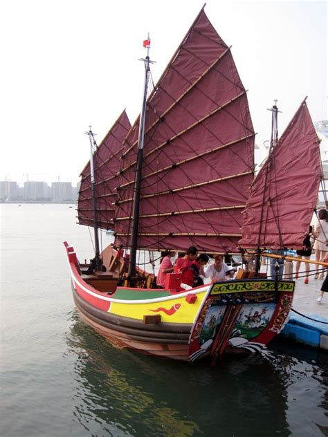 junk boat chinese junk boats at this year s show and a