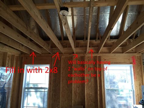 Raising A Ceiling by Raising Ceiling Building Construction Diy Chatroom Home Improvement Forum