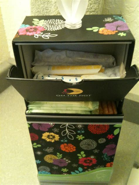 Cute Bathroom Storage Ideas by Dot Recommends The Dot First Period Kit