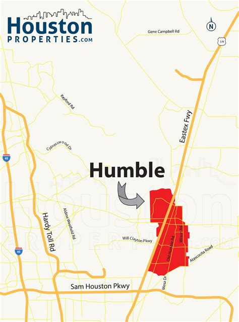 map of humble texas humble tx real estate guide find humble homes for sale