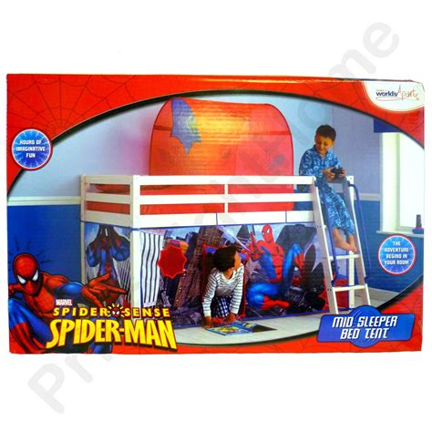 spiderman bed tent spiderman mid sleeper bed tent new free p p spider man