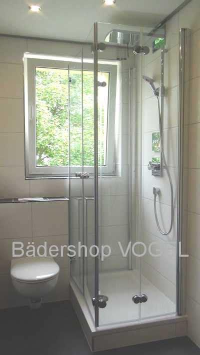 dusche mit fenster duschabtrennung vor fenster in u form mit drehfaltt 252 ren