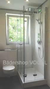 dusche vorm fenster duschabtrennung vor fenster in u form mit drehfaltt 252 ren
