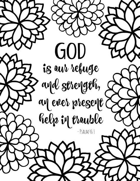 printable coloring pages with bible verses free printable bible verse coloring pages with bursting