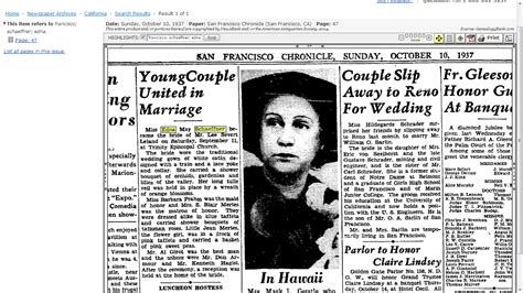 Wedding Announcement Newspaper Articles by Genea Musings Found Newspaper Articles For S