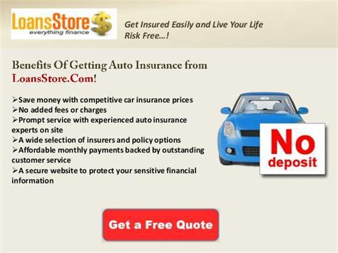 Cheap Car Insurance Deposit by Cheap Car Insurance With No Deposit Car Insurance No