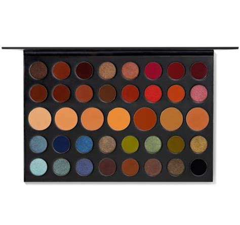 james charles artistry palette canada 35o 35 color nature glow eyeshadow palette morphe us