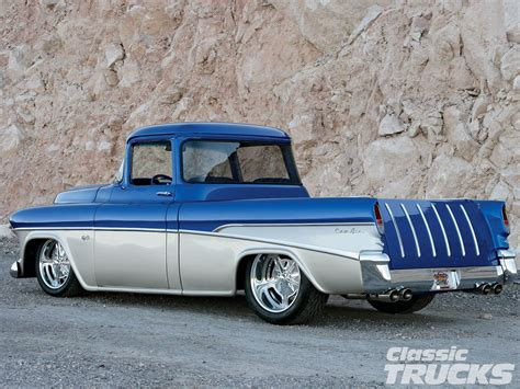 chevy cars pictures 1955 chevrolet cameo hotrod pictures rod cars