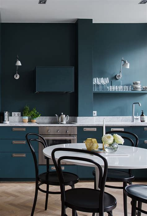 Bold Kitchen Wall Colors decordots
