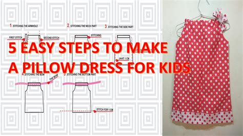 pillowcase dress pattern youtube how to make pattern and sew a simple pillowcase dress for