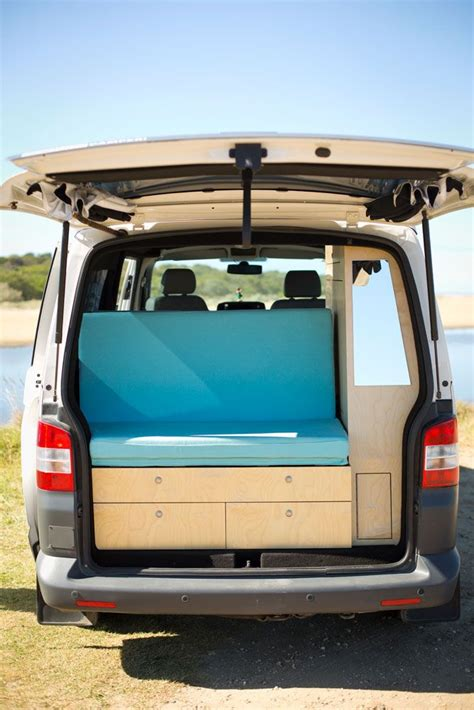 volkswagen geelong back seat with a view rock and roll bed in vw cervan