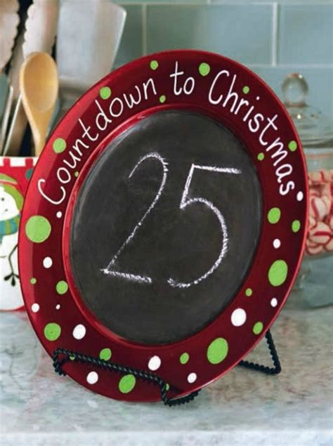 christmas countdown craft rustic chalkboard countdown dukes and duchesses