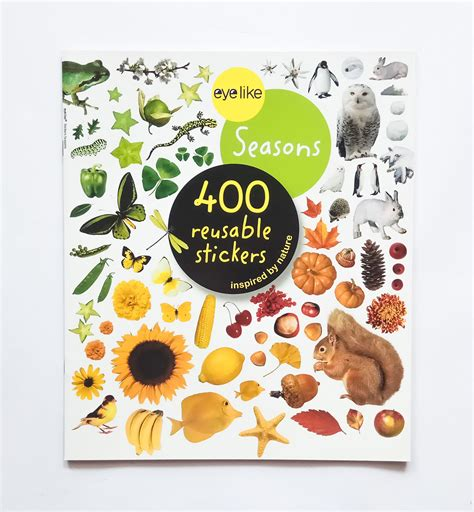 Buku Sticker Anak Creative Sticker eyelike stickers letters alphabet 400 reusable stickers book buku impor import anak jakarta