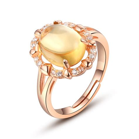 get cheap large citrine ring aliexpress
