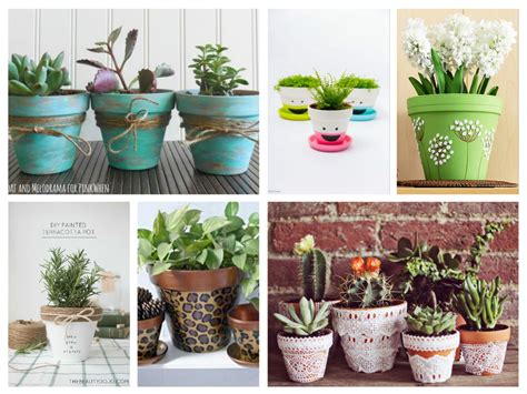 20 very nice and cheerful ideas to decorate terracotta plant pots diy fun world