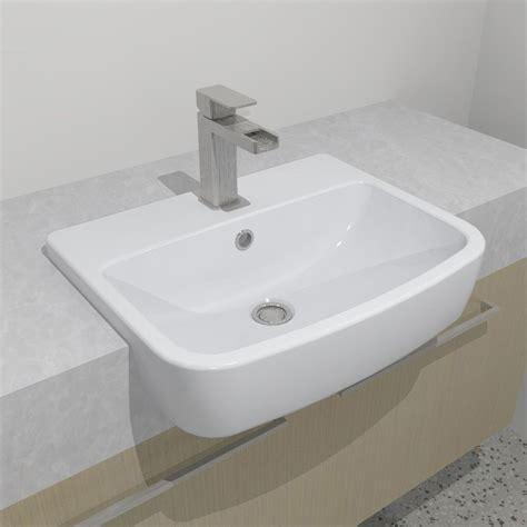 Bath Shower Wall Panels caroma urbane semi recessed basin design content