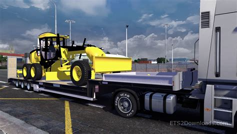 cat trailer cat 140m trailer truck simulator 2 mods