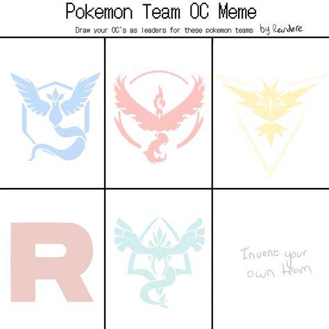 Pokemon Team Memes - pokemon team meme by reindere on deviantart