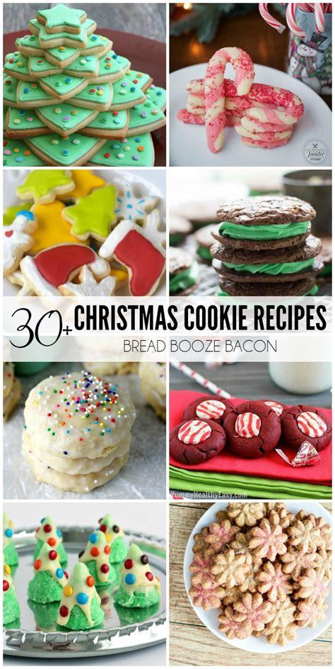 28 best 30 easy christmas cookies lemonsforlulu 18 almond christmas tree cookies 30 easy