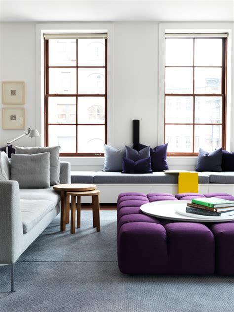 tribeca loft living room new york by