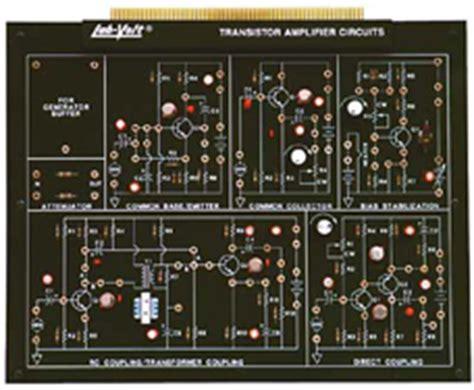 transistor lifier circuits lab volt surplusmaster lab volt facet equipment page