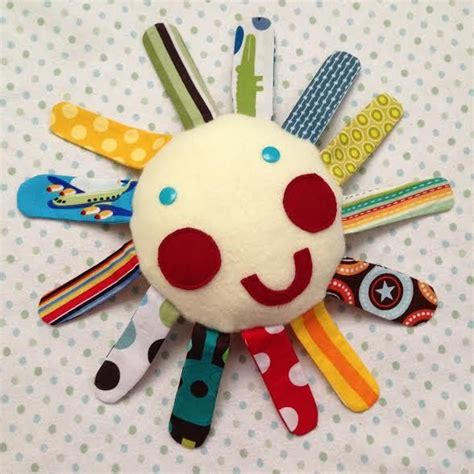 Handmade Infant Toys - diy tutorial diy handmade baby toys diy mr sun fabric