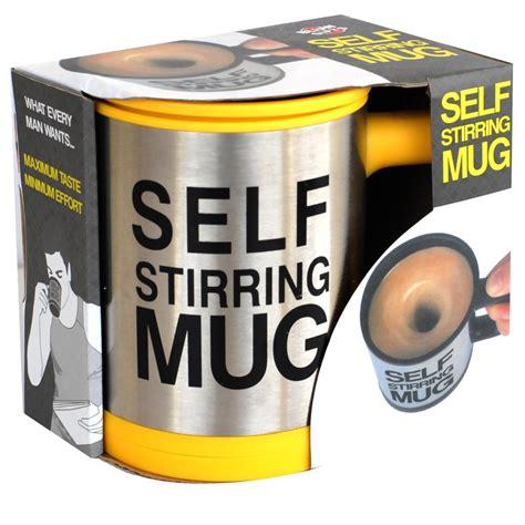 Panci Pengaduk Otomatis self stirring mug gelas pengaduk otomatis elevenia