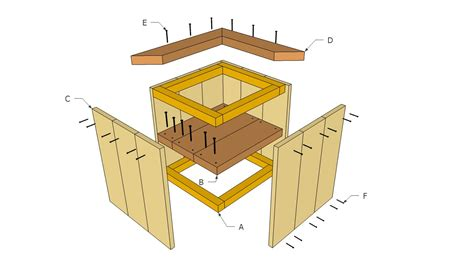 Wooden Planter Plans | pdf diy diy wood planter download double loft bed plans