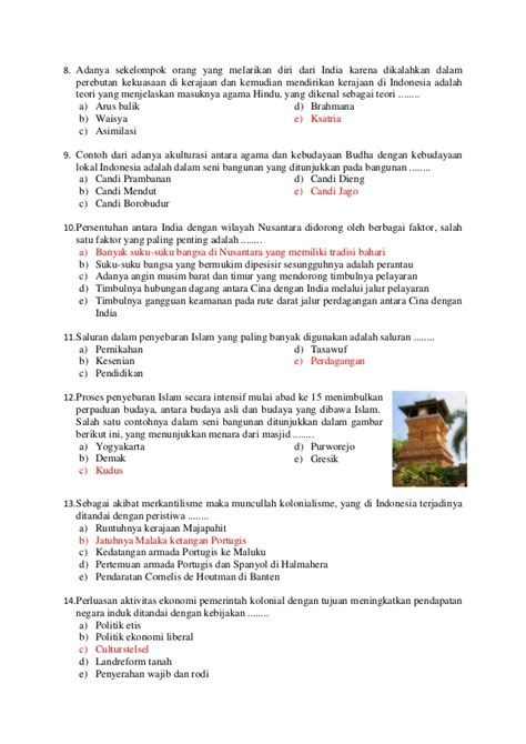Sejarah Interaktif Sma 3 contoh akulturasi lokal contoh bee
