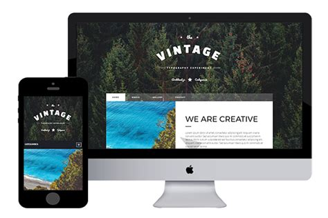 bootstrap themes retro vintage free bootstrap html5 template html5xcss3