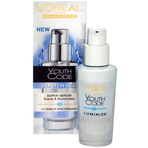 Serum Youth Code l oreal dermo expertise youth code luminize serum 30ml free shipping lookfantastic