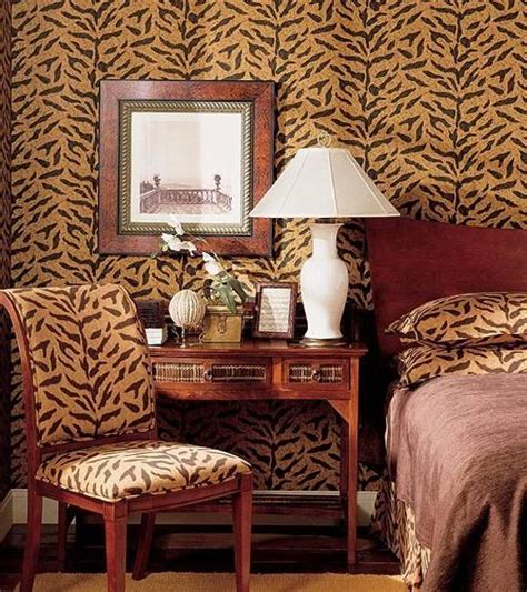 animal print wallpaper for bedroom 21 african decorating ideas for modern homes