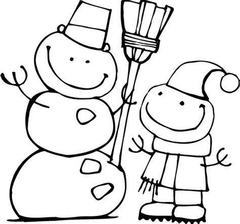 Winter Coloring Pages Print Winter Pictures To Color At Winter Coloring Pages To Print
