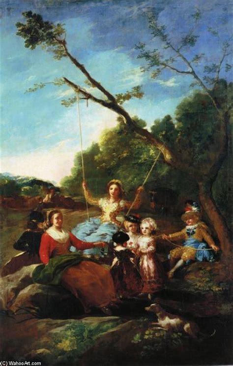swing significato l altalena olio su tela di francisco de goya 1746 1828