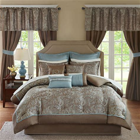 Michael Amini Bedroom Set cadence 24 pc comforter set jcpenney