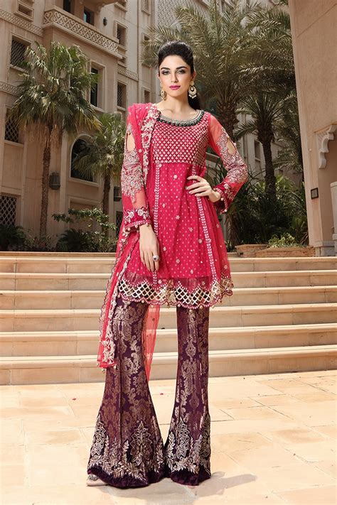 latest dress style latest pakistani dresses styles pairing bell bottom pants